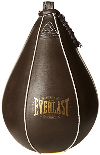 Everlast Leather Speed Ball PU, Punching Bag Vintage