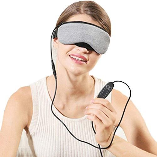 WYBD.Y Hochwertige Heizaugenmaske mit USB-Heißdampf-Schlafaugenmaske Einstellbare Temperaturregelung für trockene Augen zur Linderung von Belpharitis, Schimmelbefall und geschwollenen Augen