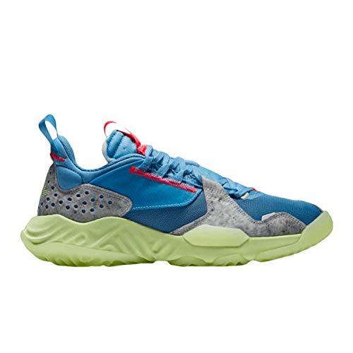 Nike Men's Delta Blue Beyond/Flash Crimson-Green Abyss-Barely Volt...