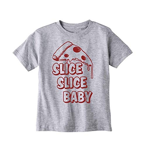 Kid's Pizza Shirt - Slice Slice Baby - Funny Children's Food T-Shirt