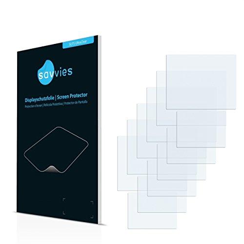 6x Savvies SU75 UltraClear Displayschutz Schutzfolie Vtech V.Smile Cyber Pocket (Kristallklar, Blasenfreie Montage, Passgenauer Zuschnitt)
