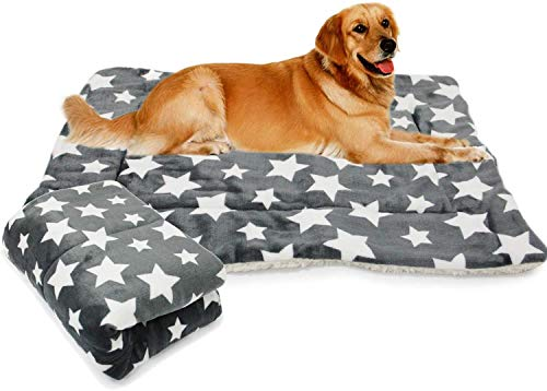 BPS Manta Cama para Perros Gatos Colchón Sofá Almohada para Mascotas Suave Tamaños S/M/L Color al Azar (L: 120x70 cm) BPS-1659