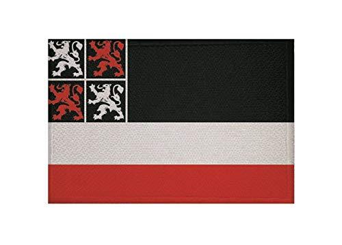 U24 Patch Uitgeest (Nederland) Vlag Vlag Opstrijker Patch 9 x 6 cm