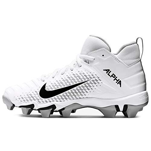 Nike Alpha Menace Shark 2 Big/Little Kids Football Cleat Aq7654-100 Size 3