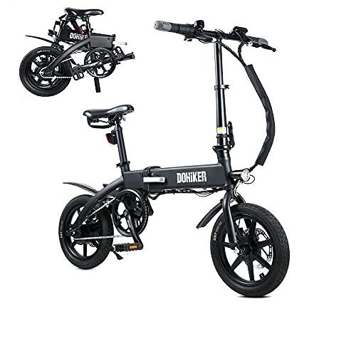 Fafrees Bicicletta Elettrica Pieghevole da 14 Pollici 36V 10AH 250W velocità Massima 25 km/h, Bicicletta Elettrica con Batteria Ricaricabile Rimovibile (Installazione Rapida e Consegna Rapida)