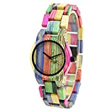 Bewell Casual reloj de pulsera de poco peso Mujer Reloj De Cuarzo Analógico Reloj w105dl