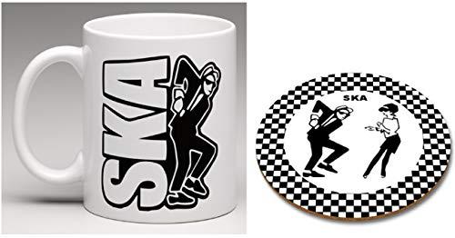 Ska Rude Boy Rude Girl Mug and Coaster Set