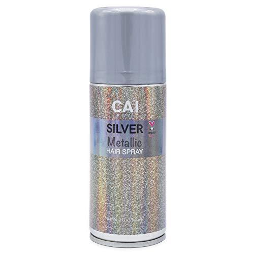 CAI BEAUTY NYC Hair and Body Glitter Spray - Metallic Silver
