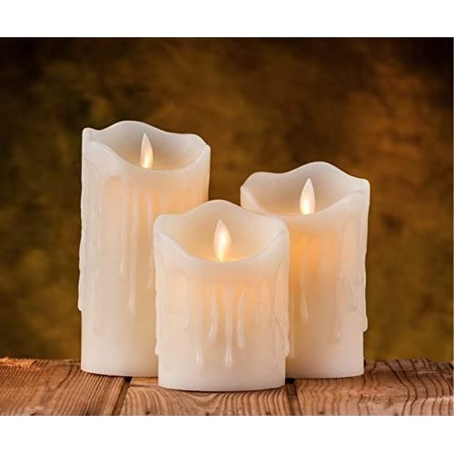 899d7270ec9 Auslese™ Realistic Swing Wave Port Flameless Flickering LED Electronic  Candle Light for Home Decoration and
