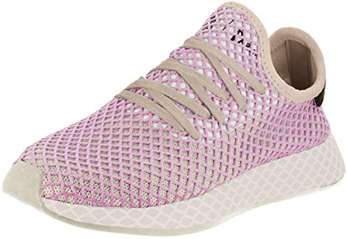 adidas Womens Deerupt Runner Lace Up Sneakers Shoes Casual - Pink - Size 6 B