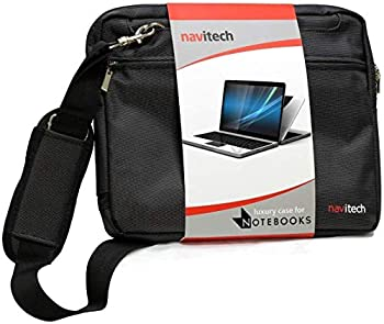 Navitech Black Premium Messenger/Carry Bag Compatible with The Acer C720p-2625 11.6in Touchscreen ChromeBook
