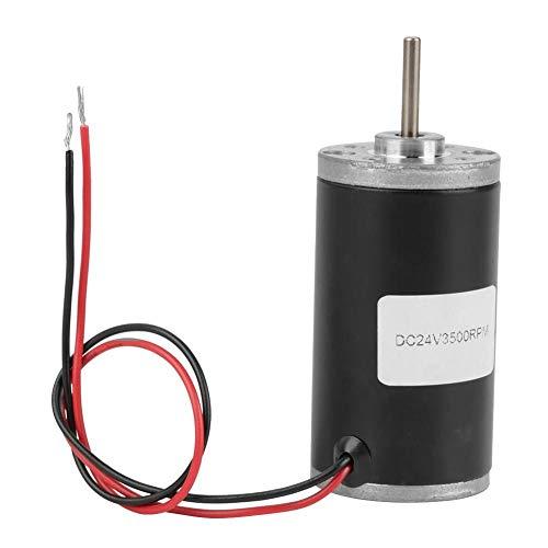 31ZY Motor de CC de Imán Permanente Motor de Engranaje Eléctrico Reversible Para Generador de Bricolaje CW/CCW 6V / 12V / 24V 3500-8000rpm(24V 3500rpm)
