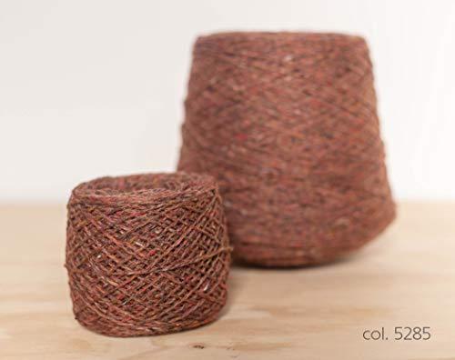Knoll Double Soft Donegal Tweed, Merino Yarn Natural Brown / 100% Merino Garn Braun (5285), 50g