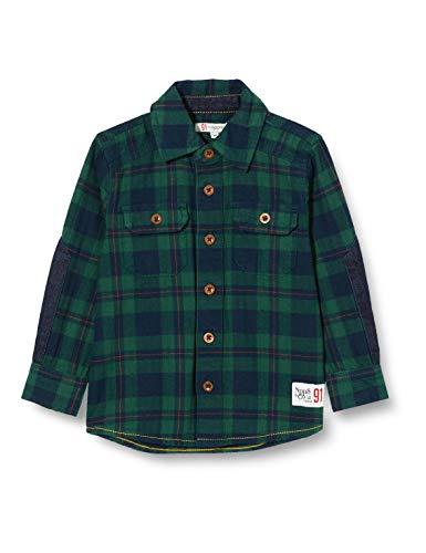 Noppies Jungen B Regular Shirt Trichardt Hemd, Farm Green-P598, 104