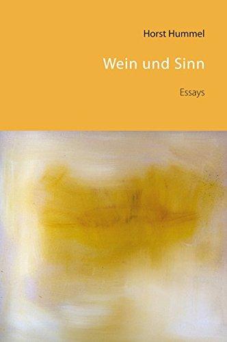 Wein und Sinn: Essays