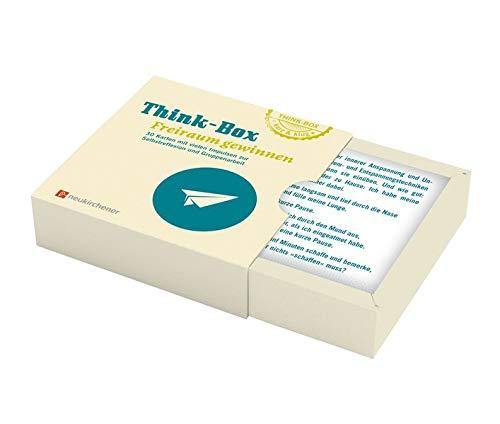 Think-Box - Freiraum gewinnen: 30 Karten mit vielen Impulsen zur Selbstreflexion und Gruppenarbeit