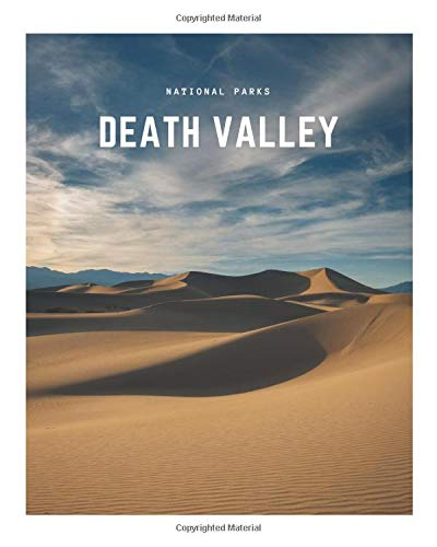 Death Valley: A Decorative Book │ Perfect for Stacking on Coffee Tables & Bookshelves │ Customized Interior Design & Home Decor