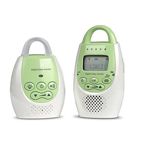 Health And Wellness BM0203 - Vigilabebés con pantalla sin interferencias