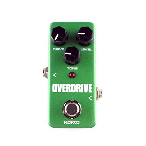 KOKKO FOD3ミニ オーバードライブ ギターエフェクトペダル エフェクトペダル トゥルーバイパス式 魔法の小箱