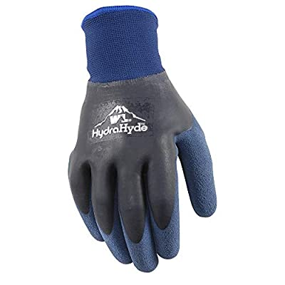 Wells Lamont HydraHyde Double Coated Nitrile Work Gloves