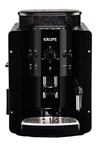 Krups EA8108 Independiente Totalmente automática Máquina espresso 1.8L 2tazas Negro - Cafetera (Independiente, Máquina...