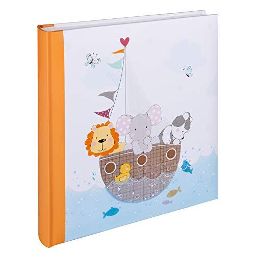 Walther design UK-277-O Babyalbum By my side, 28x30,5 cm, orange