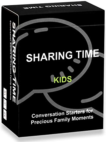 Family Games for Kids and Parents, 120 Thought-Provoking Conversation Starters, Fun Family Activities for Raod Trip & Travel, Educational Card Questions for Great Parent-Child Relationship Building