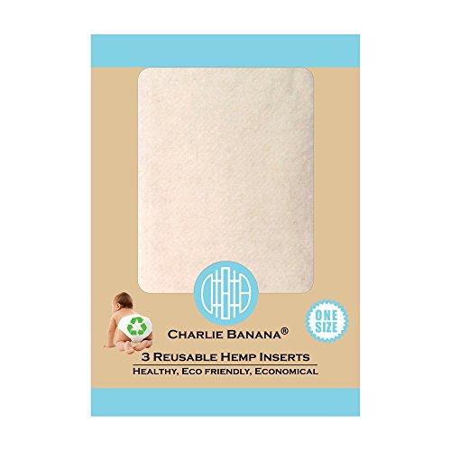 Winc Design Limited Charlie Banana Wiederverwendbare Hanfeinsätze, Größe 1, klein, 3-teilig 889482