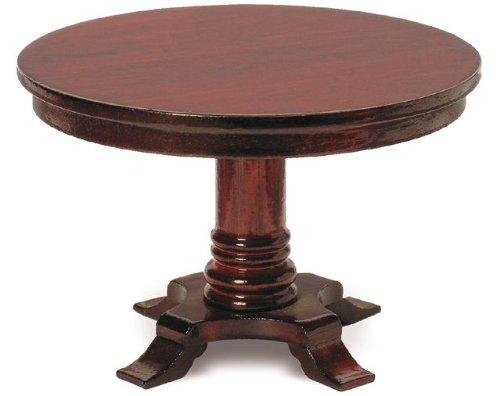 MiniMundus Biedermeier Tisch, rund für das Puppenhaus, Bausatz