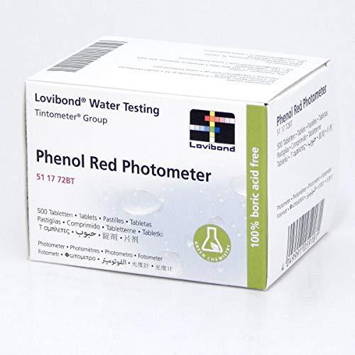Lovibond - Phenol Red Photometer test ph fotometro 500 pz