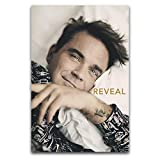 Robbie Williams Poster, dekoratives Gemälde, Leinwand,