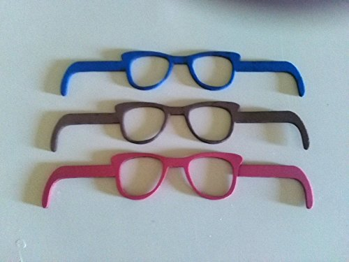 6 gafas de goma eva ideal para fofuchas o cualquier muñeca (Para bolas de 6-7-8...