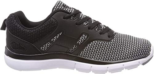 Brütting Herren Skill Sneaker, Grau (Grau/Schwarz), 40 EU
