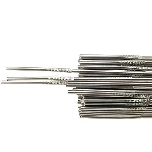 Verakee Ztengyu-Varillas para soldar 1kg 201/304/308 Alambre de Soldadura de Acero Inoxidable, para Barras de Soldadura de argón de Soldadura de Soldador Rendimiento Estable