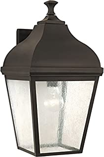 Sea Gull Lighting OL4003ORB Terrace Extra Large One Light Outdoor Wall Lantern, Oil Rubbed Bronze