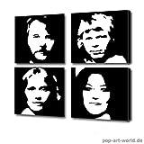 Abba Portraits - Gemälde / Bild / kein Poster, CD,