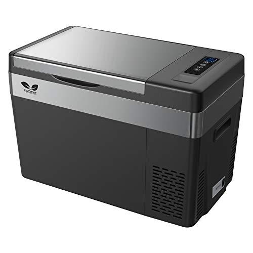 F40C4TMP 車載冷蔵庫 28L -22℃~10℃ 冷蔵冷凍 2電源対応 ポータブル冷蔵庫 12V 24V 100V 静音 ACコード DC...