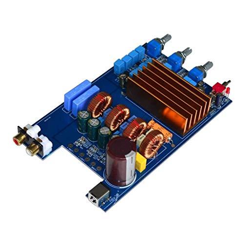 XUSHEN-HU Clase TPA3255 300W + 150W + 150W D Digital 2.1 Amplificador de Potencia Junta HiFi DC30V-48V
