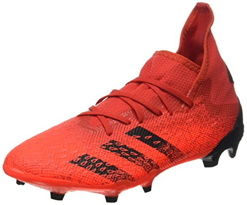 adidas Predator Freak .3 FG, Zapatillas Deportivas Hombre, Rojo/NEGBÁS/Rojsol, 41 1/3 EU