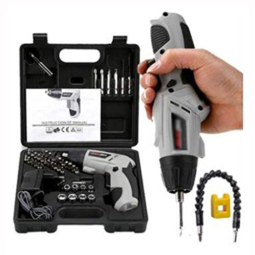 Great Deal! Small Electric Screwdriver Rechargeable Mini Small Electric Electric Screw On The Hand D...