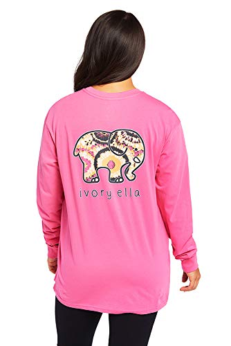 Ivory Ella Jake Oversized Long Sleeve Relaxed T-Shirt