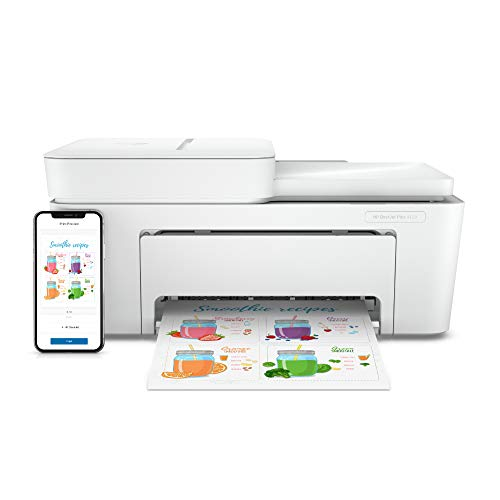 HP DeskJet Plus 4120 Multifunktionsdrucker (Instant Ink, Drucker, Kopierer, Scanner, mobiler Faxversand, WLAN, Airprint) inklusive 6 Monate Instant Ink