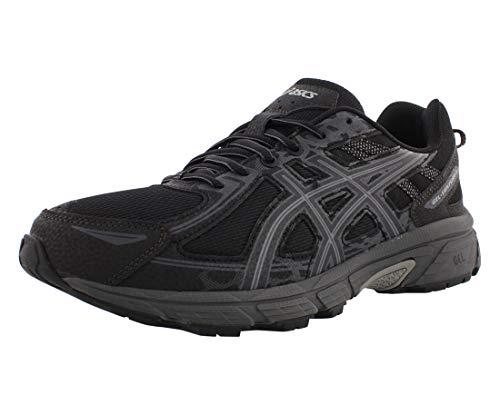 ASICS Men's Gel-Venture 6 Running Shoe, Black/Black, 8 4E US