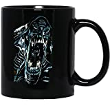 Jackila Xenomorph Alien Ridley Scott Monstober Pastels Horror Art Funny Coffee Mug for Women and Men Tea Cups Tea
