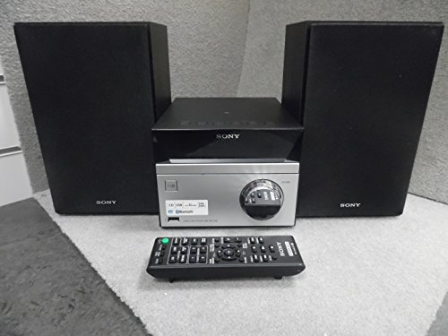 Sony CMT-SBT20 Compact Hi-Fi System with CD Bluetooth NFC - Black/Silver