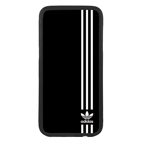 Custodia per cellulare per Apple iPhone 5c Logo Adidas Logo TPU Bordo Nero