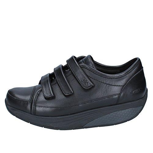MBT Nafasi S Strap W, Zapatillas de Gimnasia para Mujer, Negro (03N), 36 EU