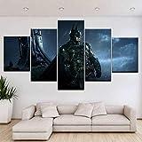 superljl Impressions sur Toile The Dark Knight Film Affiches pour Le Salon Mur Art...