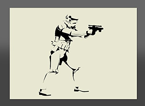 297 x 210 mm A4 Schablone Star Wars