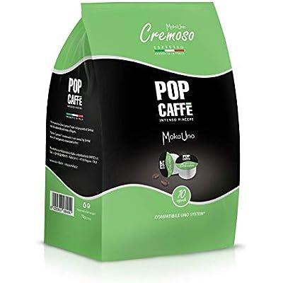 Cheap 100 Capsules Pop Coffee Moka Cup Mixture 2 Creamy